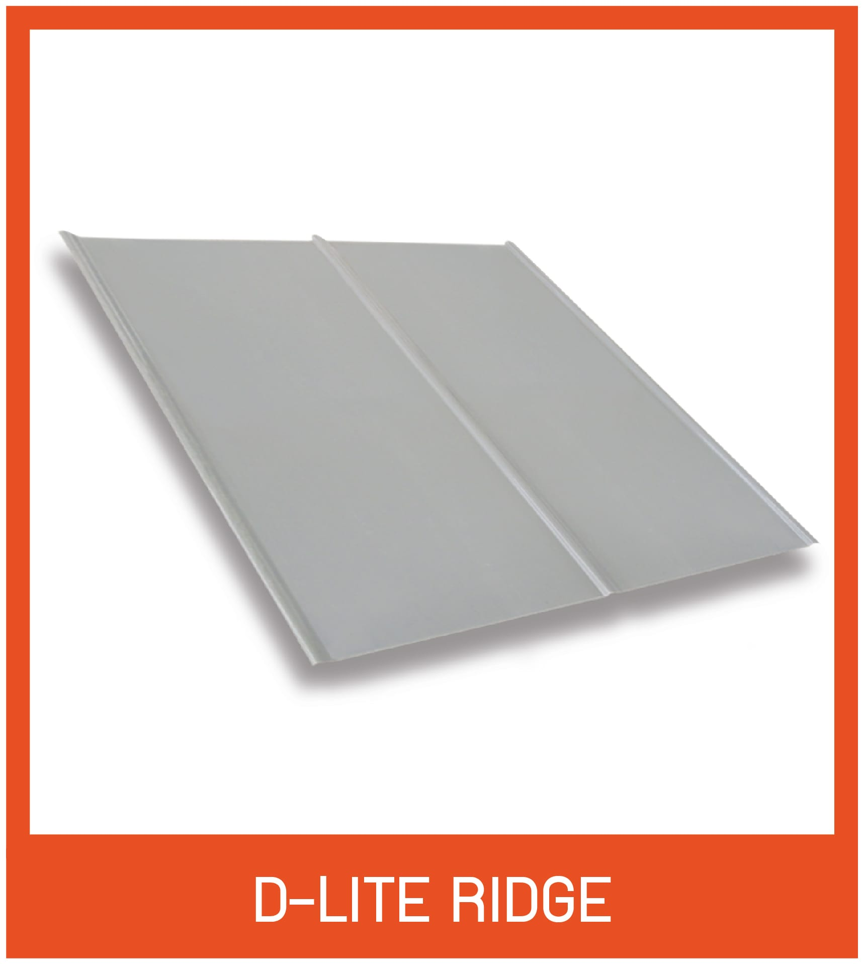 D-Lite-ridge กันสาดดีไลท์ ลอนเรียบ
