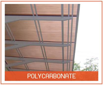 หลังคาโพลีคาร์บอเนต Polycarbonate