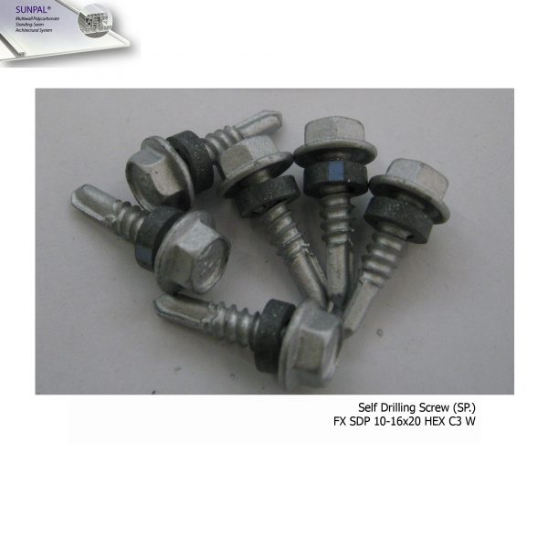 FX SDP 10-16x20 HEX C3 W สกรู