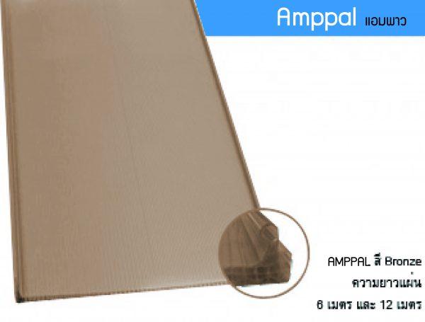 Amppal สีBronze แอมพาว